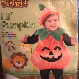 Baby Pumpkin Outfit